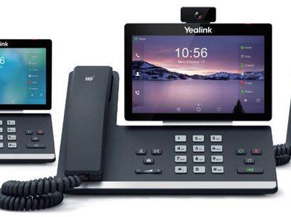 Yealink T58A, T58V & T56A Điện thoại truyền thông thông minh