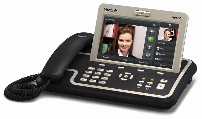 Điện thoại IP Video Yealink VP530 là dòng điện thoại IP Video cao cấp nhất của Yealink. Với việc tích hợp âm thanh, video, ứng dụng , VP530 là điện thoại video mạnh mẽ cho doanh nghiệp, cùng một màn hình lớn và dễ sử dụng.