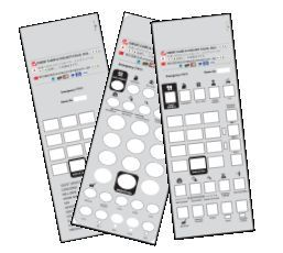 100 Telematrix 3100 3300 9600 In giấy mặt tùy chỉnh
