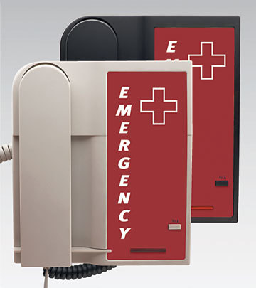 Điện thoại khách sạn khẩn cấp C90123 màu đen