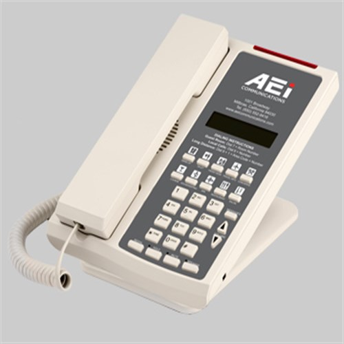 Điện thoại khách sạn Aei SSP 9110 SM ASH